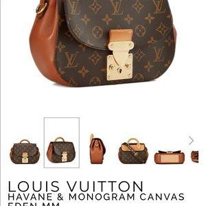 f215b6496e1f Louis Vuitton Bags - Louis Vuitton Havane   Monogram Canvas Eden MM
